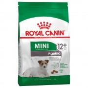 2x3,5kg Mini Ageing 12+ Royal Canin ração cão