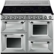 SMEG Tr4110ix Cucina 110x60 5 Zone Cottura A Induzione Doppio Forno 122 Litri Cl