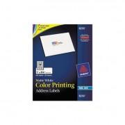 Vibrant Color-Printing Address Labels, 1 X 2 5/8, Matte White, 600/pack