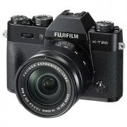 Fujifilm X-T20 kamerahus svart + Fujinon XC 16-50/3,5-5,6 OIS II + Fujinon XC 50-230/4,5-6,7 OIS