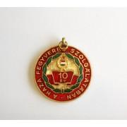 Insigna militara comemorativa 10 ani