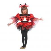 Costum Buburuza Balerina 6-7 ani