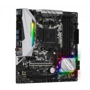 Placa de baza ASRock B450M Steel Legend, AMD B450, AM4, DDR4, mATX