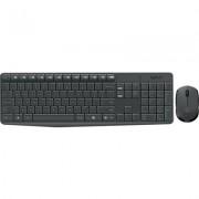 Kомплект безжични клавиатура с мишка Logitech MK235 БДС