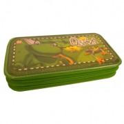 Penar neechipat 2 fermoare Lizzy Card verde