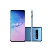 Smartphone Samsung Galaxy S10 128GB Nano Chip Android Tela 6.1'' Octa-Core 4G Câmera Tripla Traseira 12MP + 12MP + 16MP - Azul