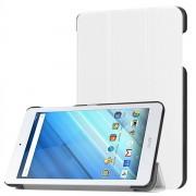 Fodral / mobilfodral med hållare för Acer Iconia One 8 B1-860 / B1-850 - Vitt