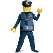 Deluxe LEGO Politie kostuum voor kinderen - Verkleedkleding