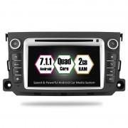 "Navigatie GPS Auto Audio Video cu DVD si Touchscreen 7 "" inch Rezolutie HD 1024x600 Mercedes Benz Smart Fortwo + Cadou Soft si Harti GPS 16Gb Memorie Interna"