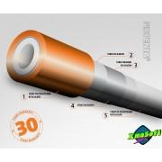 Teava PEX polietilena reticulata cu bariera de oxigen 16 X 2