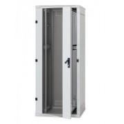 Rack Triton 19' stojanový 47U600x800 prosklené dveře, šedý