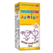 Sirop Imunostim Junior cu gust de miere si lamaie, 125 ml