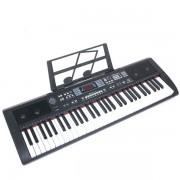 Orga electronica cu 61 de clape USB MP3 BT si Radio FM MQ-607UFB