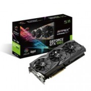 Видео карта Nvidia GeForce GTX 1060, 6GB, Asus ROG STRIX, PCI-E 3.0, GDDR5, 192-bit, Display Port, HDMI, DVI, RGB подсветка