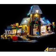 Light My Bricks LEGO Winter Village Station 10259 Verlichtings Set