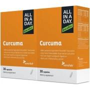 Sensilab Curcuma - formule optimisée 1+1 gratuit - sans gluten ni lactose, 60 capsules