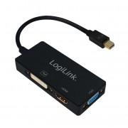 Logilink CV0110 4K miniDisplayPort to DVI/HDMI/VGA Converter