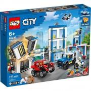 set de construcción lego city estación de policía 60246