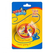 Izzy 'n' Dizzy Spiral Dreidel Marker - Spin Art Draidel Draws as it Spins - Hanukah Arts and Crafts - Gifts and Games by Izzy 'n' Dizzy