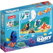 Puzzle Walt Disney Quercetti: Techno Finding Dory 9 piese