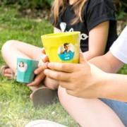 smartphoto Fotoklistermärken barn rund