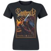 Ensiferum Thalassic Damen-T-Shirt - Offizielles Merchandise S, M, L, XL, XXL Damen