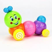 2 Pack Kids Child Develepmental Toy Movement Caterpillar Plastic Toys Wind-up Toys Gift
