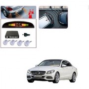 Auto Addict Car Silver Reverse Parking Sensor With LED Display For Mercedes Benz C-Class