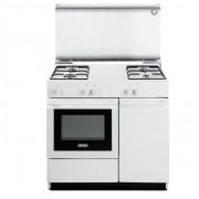 DeLonghi Sgw 854 N Cucina 86x50 4 Fuochi A Gas Forno A Gas Colore Bianco