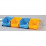 Allit Ocelová lišta pro zavěšení plastových boxů