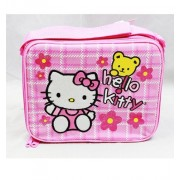 Sanrio Hello Kitty Pink Insulated Lunch Bag with Flower (JoyAve)