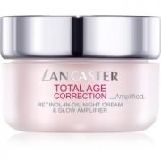 Lancaster Total Age Correction _Amplified нощен крем против бръчки за озаряване на лицето 50 мл.
