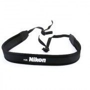 Rainbowimaging NSNK Anti-Slip Elastic Neoprene Neck Strap for Nikon DSLRs (Black)