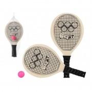 Summertime Voordelig strand tennis/beachball set