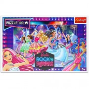 Barbie Rock in Royal Rock queens - 100 Pieces Jigsaw Puzzle