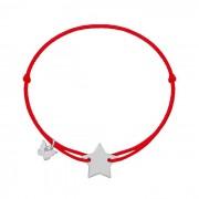 NÁRAMOK CLASSIC STAR WHITE GOLD Farba: červená