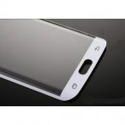 Извит протектор за Samsung Galaxy S6 edge бял
