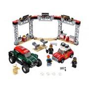 Lego Mini Cooper S Rally de 1967 y MINI John Cooper Works Buggy de 2018