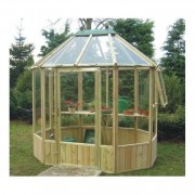 A1 Wellow Octagonal Greenhouse: 3 Sizes