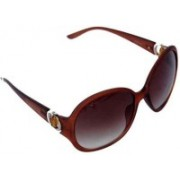 New Zovial Over-sized Sunglasses(Brown)