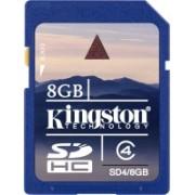 Kingston 8 GB SDHC Class 4 4 MB/s Memory Card