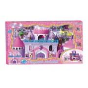 Palat de cristal Lary Toys cu muzica si lumini accesorii si mobilier