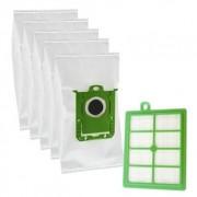 Premium Paket 5 st dammsugarpåsar, HEPA-filter och motorfilter DU12190-FIL Replace: N/A