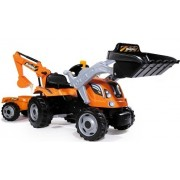 Tractor cu pedale Smoby Builder Max
