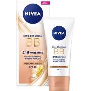 NIVEA Essentials BB Cream 5 az 1-ben Dark 50 ml