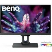 BenQ LED monitor BenQ PD2500Q, 63.5 cm (25 palec),2560 x 1440 px 4 ms, IPS LED HDMI™, USB, DisplayPort, mini DisplayPort, na sluchátka (jack 3,5 mm), LAN (