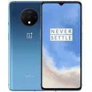 Oneplus 7T (128 GB, 8 GB) 6,6 pulgadas AMOLED 90 Hz, Snapdragon 855+, T-Mobile desbloqueado global 4G LTE GSM (AT&T, Metro, Cricket) (azul glaciar)