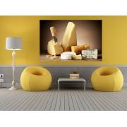 "Tablou grand canvas ""Cheese"" - cod Z34"