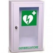 armadietto teca defibrillatore a muro wall aed / dae - 46x30x14cm - c
