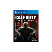 Jogo Call Of Duty: Black OPS III - PS4